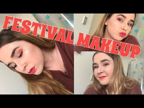 Festival makeup Tutorial!!