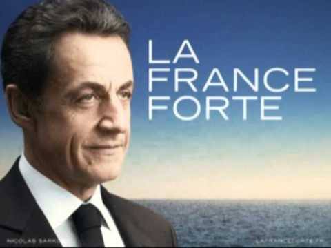 HYMNE OFFICIEL DE CAMPAGNE DE NICOLAS SARKOZY - VERSION 3'30 - LA FRANCE FORTE