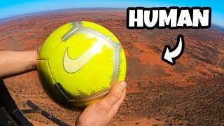 CATCHING SPORTS BALLS from 1000ft (300m)!!