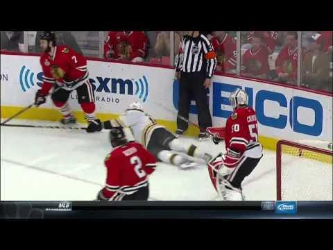NBC Sports Post Game Report part 1. 6/15/13 Boston Bruins vs Chicago Blackhawks NHL Hockey