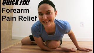 Forearm Pain Quick Fix