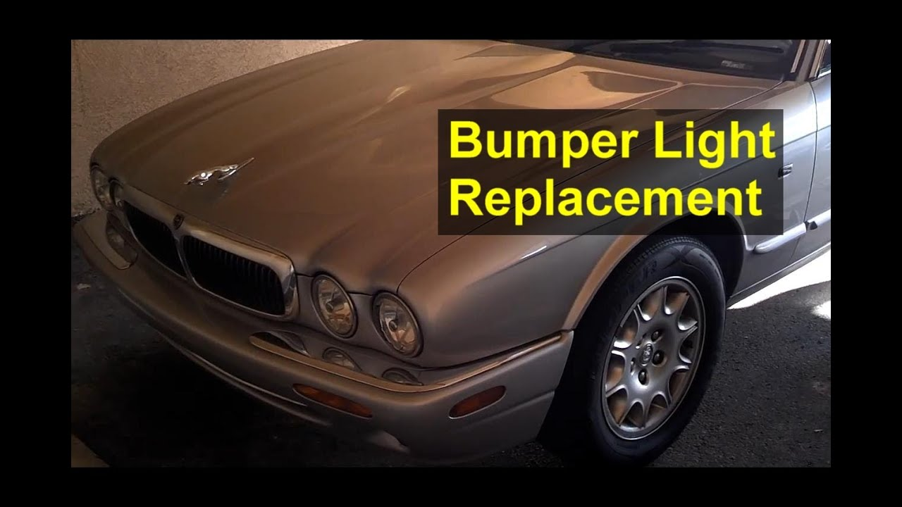 Bumper Light Bulb And Assembly Replacement Jaguar Xj8