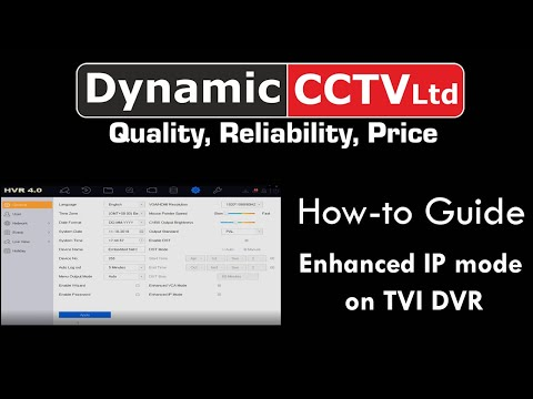 HIKVISION Enhanced IP Mode On TVI DVR Tech Support - Dynamic CCTV