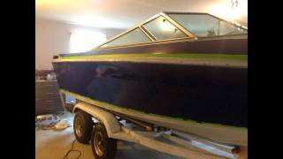 1983 Webbcraft Boat Restoration