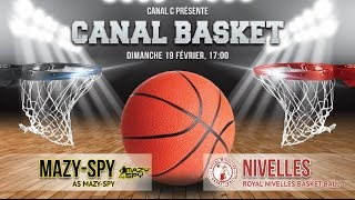 AS Mazy-Spy vs Royal Nivelles Basket-Ball