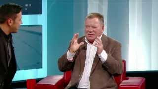 William Shatner on George Stroumboulopoulos Tonight: INTERVIEW