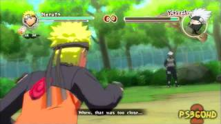 Naruto Shippuden: Ultimate Ninja Storm 2: Xbox 360 Demo Gameplay