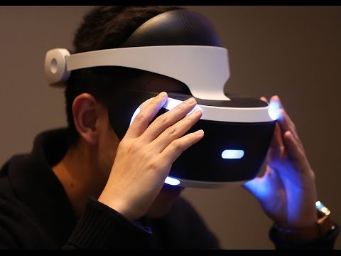 Hands On  Sony PlayStation VR Hardware and Games