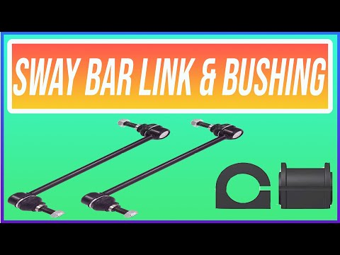 How To Replace Sway Bar Link And Bushing 2007-2011 Toyota Camry