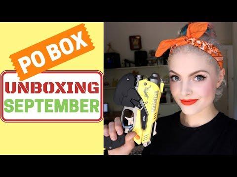PO BOX Unboxing: September + Sydney CC Gifts!