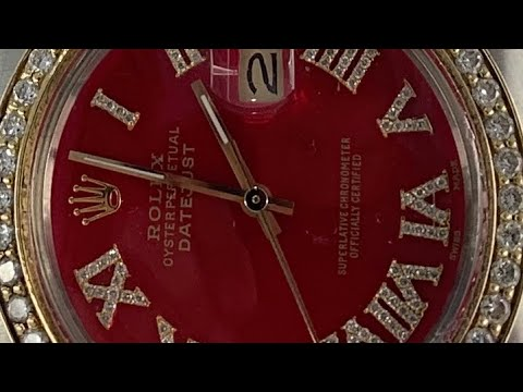 Diamond Rolex Datejust 16013 Review