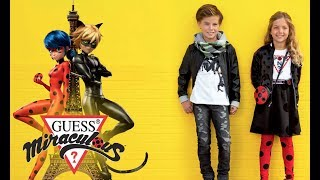 🐞 MIRACULOUS x GUESS KIDS 🐱 The new collection now available!