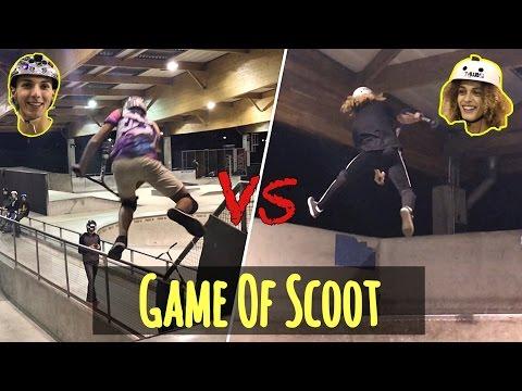 GAME OF SCOOT   Antoine Mgl VS Harry Bhk