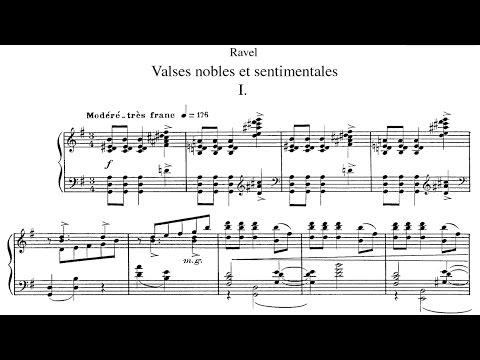 Maurice Ravel - Valses nobles et sentimentales (1911)