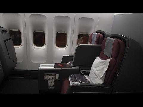 Qantas B747 Business Class Sydney to Tokyo Haneda