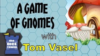 Game of Gnomes Review - with Tom Vasel
