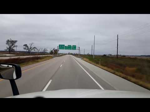 BigRigTravels LIVE! Council Bluffs, Iowa to...Interstate 29-Oct. 27, 2017