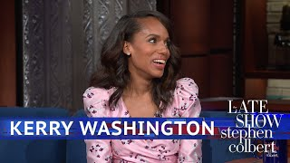 Kerry Washington Converts Political Frustration Into Motivation