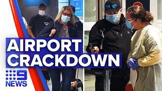 Coronavirus: Government enforces restrictions on entering NSW | 9 News Australia