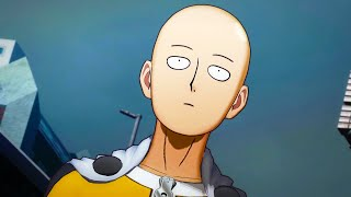 ONE PUNCH MAN: A HERO NOBODY KNOWS (2020) All Cutscenes Full Movie