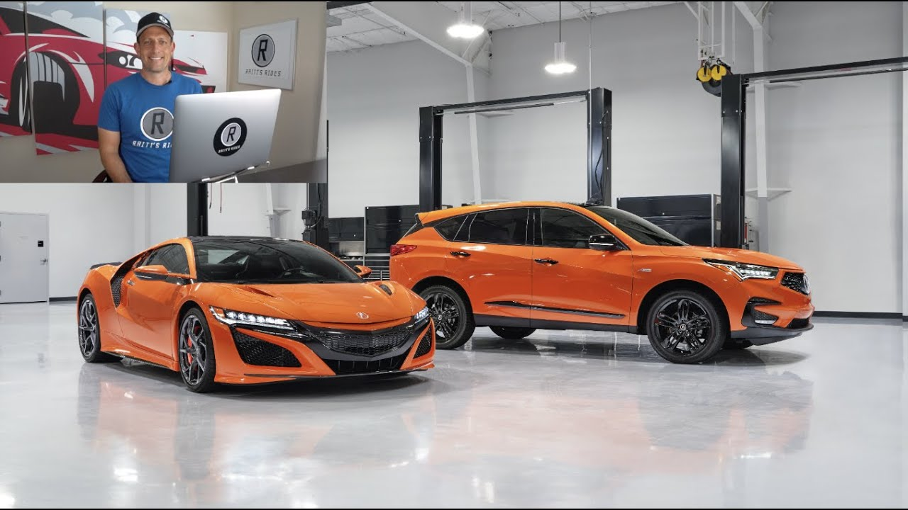 Does the NEW 2021 Acura RDX PMC Edition have the NSX touch?