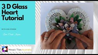 3- D Mosaic Flower Hanging