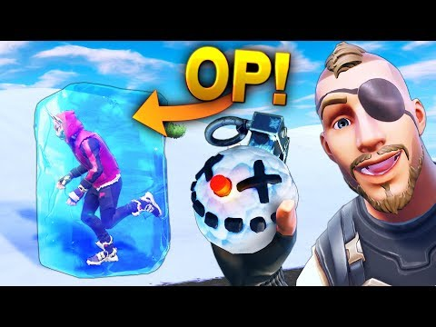 *NEW* GRENADE IS OP!! - Fortnite Funny WTF Fails and Daily Best Moments Ep. 901