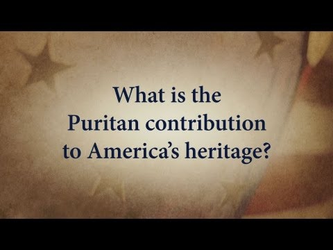 What is the Puritan contribution to America's Heritage?