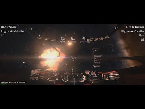 Battle of Wyrd, RNG/NMD vs 13th, fight 3 - Elite: Dangerous PvP