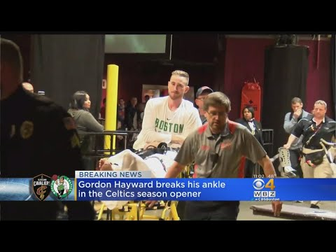 Hayward Breaks Ankle In Celtics Season Opener