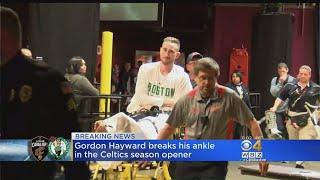 Hayward Breaks Ankle In Celtics Season ...