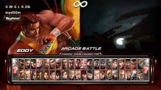 PSP Tekken 6 Gameplay