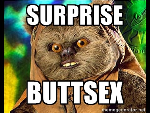 Surpise butt sex