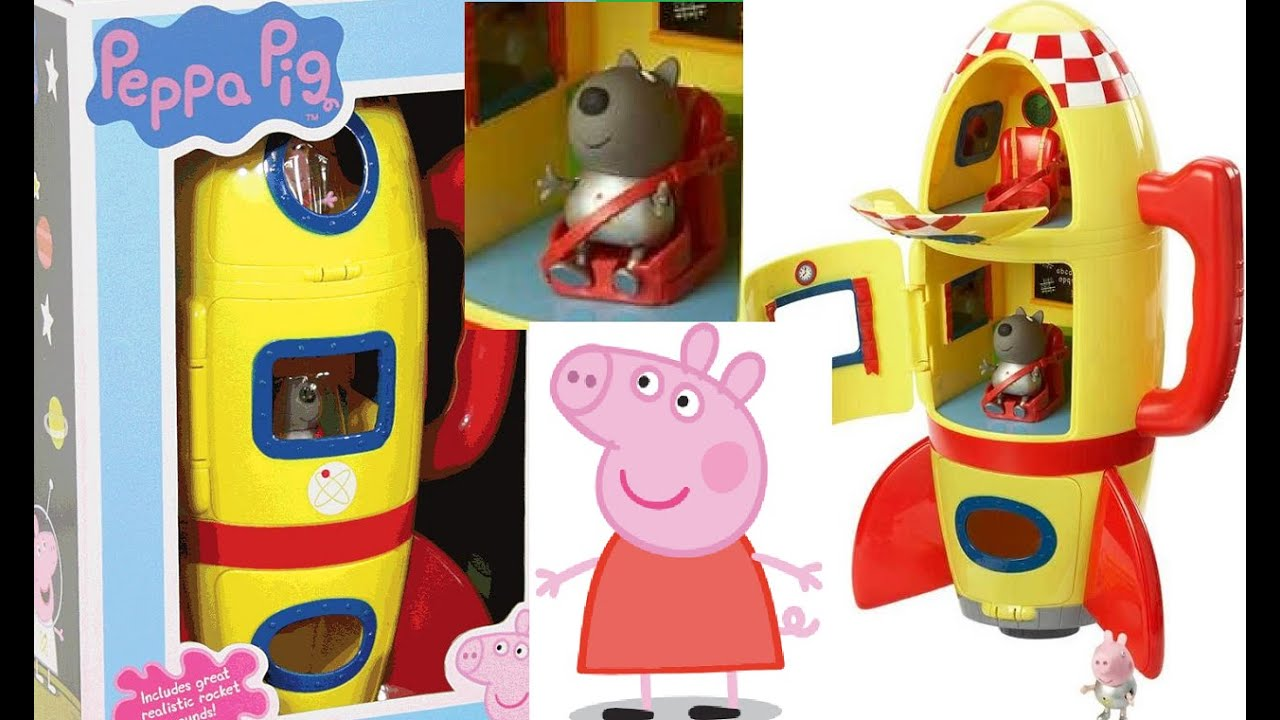Best Spaceship Rockets Toys For Kids : Peppa pig spaceship childrens kids rocket space ship toy
