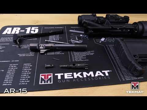 TekMat Original AR-15 Gun Cleaning Mat | Product Shorts