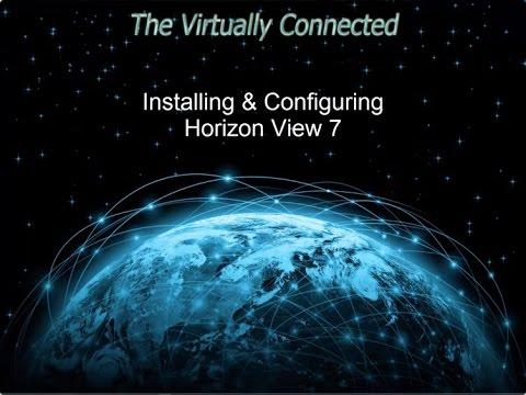 Technical 301 - (DEMO) Installation & Configuring of Horizon 7