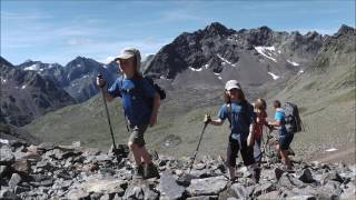 Austria 2016 Part 1 - Superb hut trek in the Stubai Alps