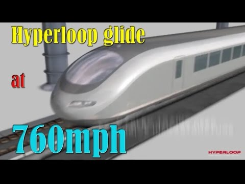 How magnets will help Elon Musk's Hyperloop glide at 760mph  Video reveals pods 'floating' in