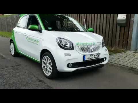 smart electric drive Unterboden während der Fahrt
