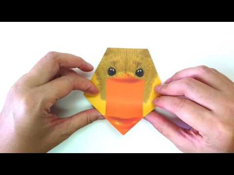 Origami Duckling Head