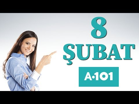 A101 8 ŞUBAT 2018 PERŞEMBE | A101 8 ŞUBAT KATALOĞU | A101 AKTÜEL ÜRÜNLER | 8 ŞUBAT A101 AKTÜEL