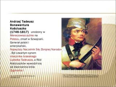Historyczne spory   Tadeusz Kościuszko