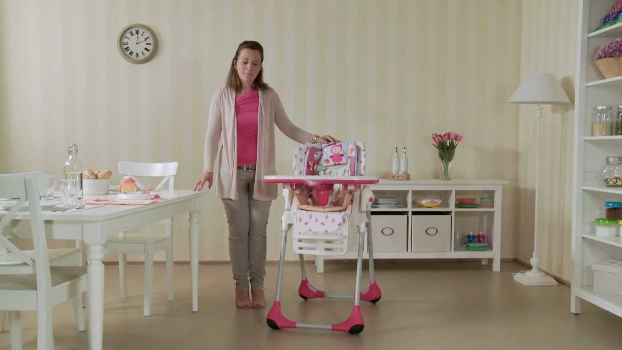 Chicco Polly 2 In 1 From High Chair To Booster Seat Youtube