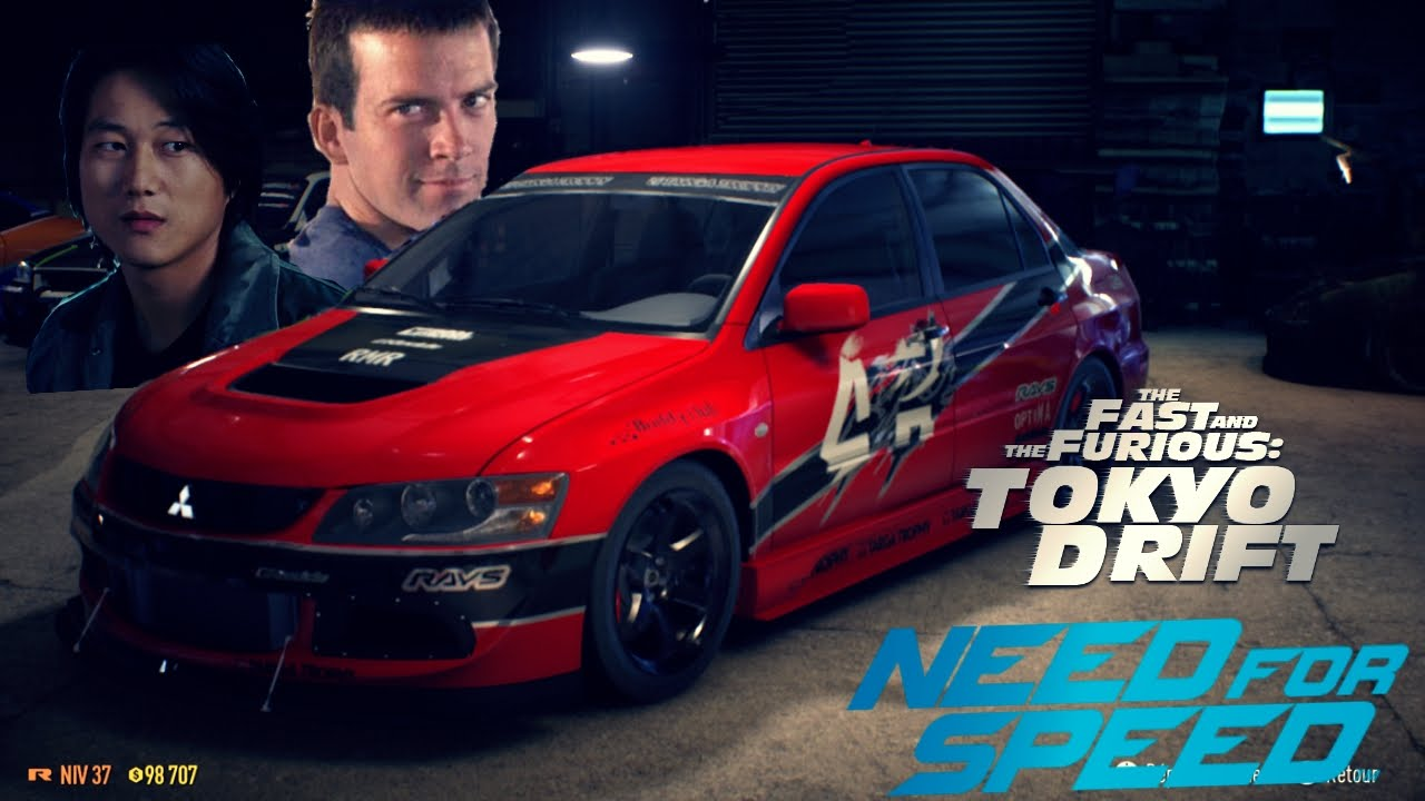 Need For Speed Tokyo Drift Cars Youtube