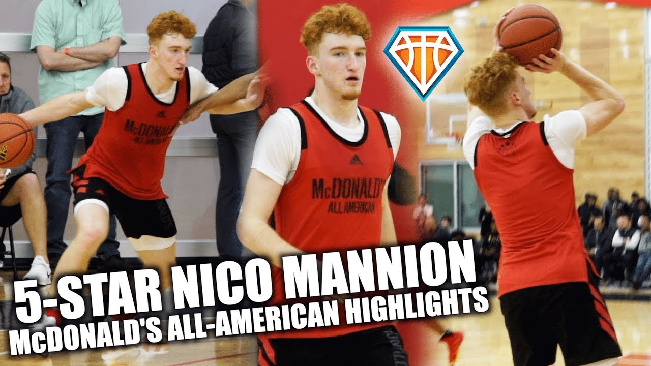 3f1f77070eed 5-STAR Nico Mannion Was ON POINT In Front of NBA SCOUTS ...