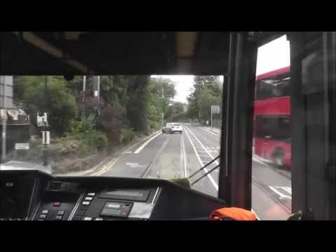 London Tramlink Cab Ride - West Croydon to Beckenham Junction
