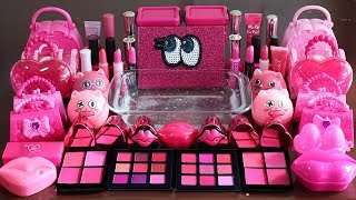 quot-big-mega-pink-quot-mixing-quot-neon-pink-quot-makeup-more-stuff-into-slime-most-satisfying-slime-video