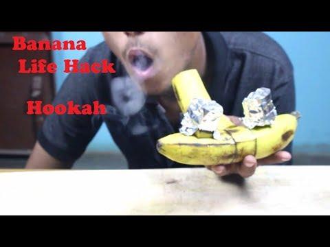 How to make Banana Hookah