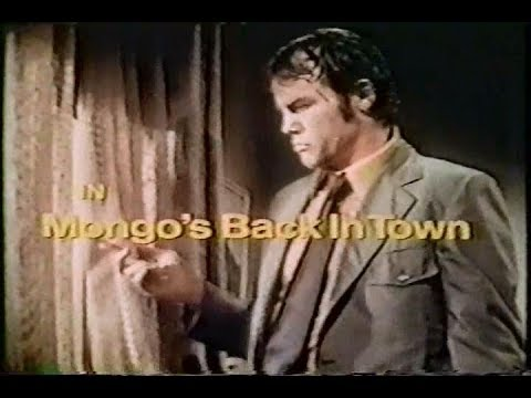 Mongo's Back In Town Rare 1971 TV Movie Telly Savalas  Joe Don Baker