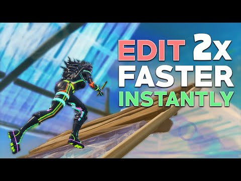 Edit 2x Faster INSTANTLY! - NEW Fortnite META